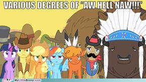 That Moment When Everypony Sings Off-Key