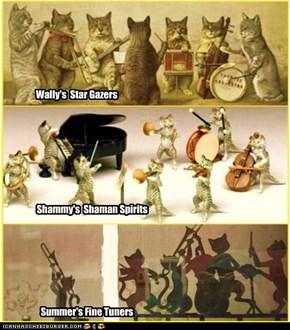 Three Orchestras toPlayfer deh Catillion!