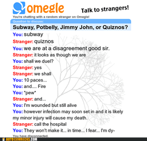 Omegle Duel