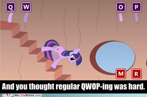 Twilight forgot how to walk!