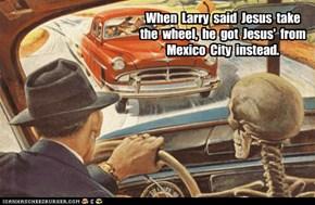 Wrong Jesus!