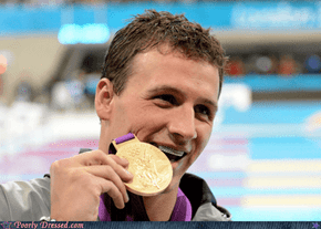 Lochte Has that Sweet Grill, Bro