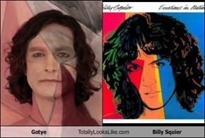 Gotye Totally Looks Like Billy Squier