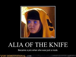 ALIA OF THE KNIFE