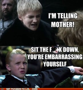 Show Him How it's Done, Draco