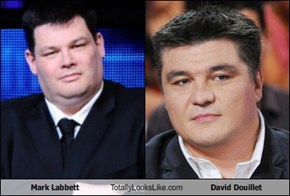 Mark Labbett Totally Looks Like David Douillet