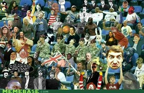 Just the average turn out for an Olympic audience