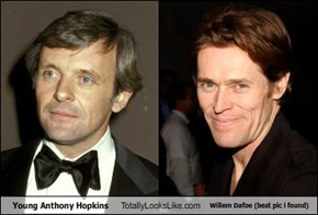 Young Anthony Hopkins Totally Looks Like Willem Dafoe (best pic i found)