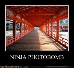 NINJA PHOTOBOMB