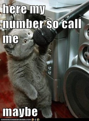 here my number so call me   maybe
