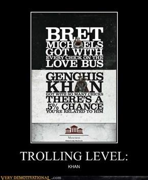 TROLLING LEVEL: