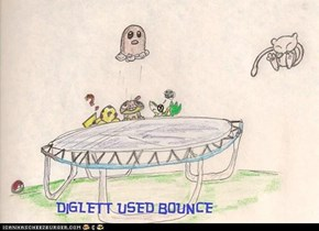diglett used bounce