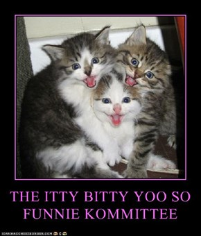 THE ITTY BITTY YOO SO FUNNIE KOMMITTEE