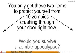 Zombie Survival 101: Would You Make It?
