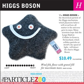 Higgs Boson Plush
