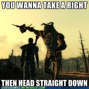 Helpful Deathclaw