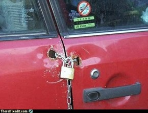 It Fits the Car Like a Key in a Keyhole!