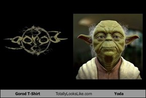 Gorod T-Shirt Totally Looks Like Yoda