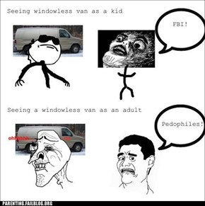 Never Trust a Windowless Van