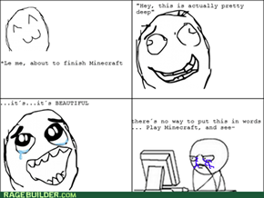 Minecraft, y u so deep?