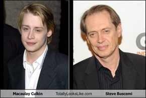 Macaulay Culkin  Totally Looks Like Steve Buscemi