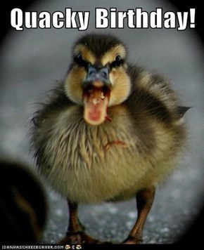 Quacky Birthday!