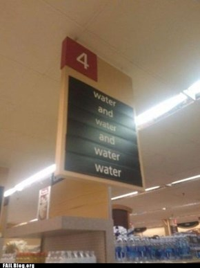 """Ooh, I'll Have Some Water Water"" FAIL"