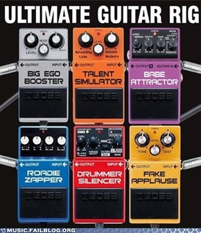 The Only Six Effects Every Guitar God Needs