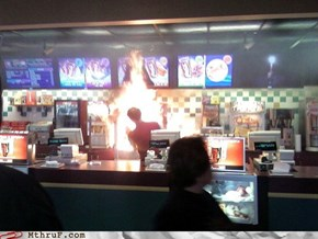 Here at Burger King, We Take Our Flame-Broiled Whoppers Very Seriously