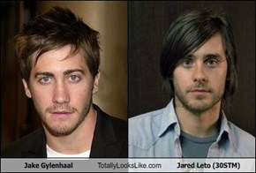 Jake Gylenhaal Totally Looks Like Jared Leto (30STM)