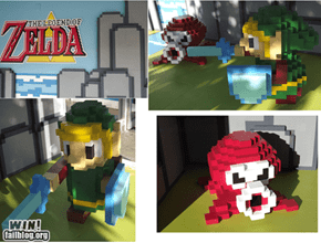 Real 3D Original Legend of Zelda