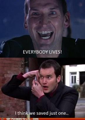 Doctor Who Vs. Torchwood