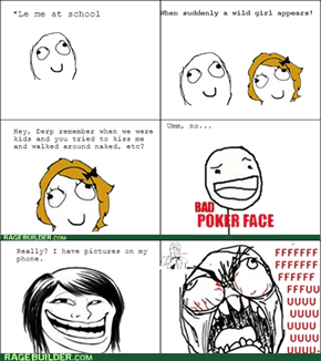 Bad childhood flashback