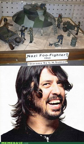 Nazi Foo Fighters?