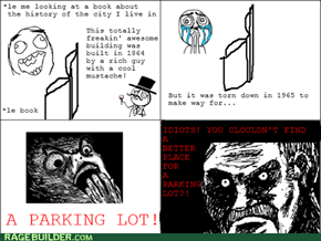 Scumbag Parking Lots