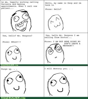 Voicemail Rage!