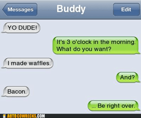 You Had Me At Waffles