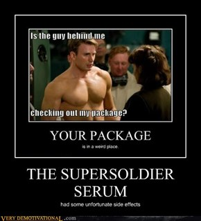 THE SUPERSOLDIER SERUM