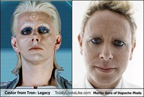 Castor from Tron: Legacy Totally Looks Like Martin Gore of Depeche Mode