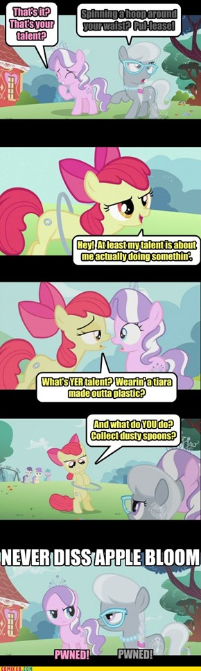 Never Diss Apple Bloom