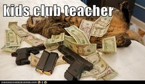 kids club teacher