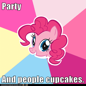 Party  And people cupcakes.