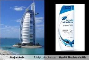 Burj al-Arab Totally Looks Like Head & Shoulders Bottle