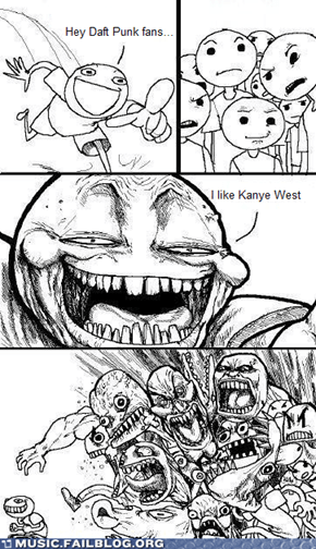 Kanye may be Stronger, but Daft Punk is also Harder, Better and Faster