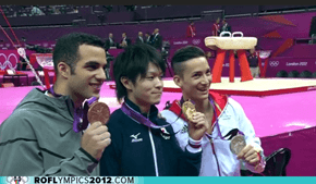 Kohei Uchimura Wins Men's All-Around Gymnastics