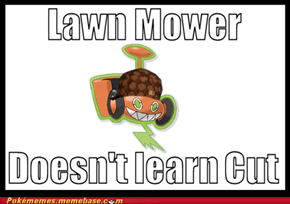 Worst Lawn Mower Ever