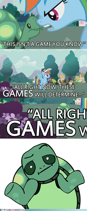 Definitely NOT a game!