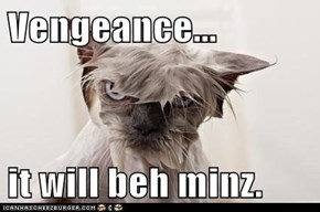 Vengeance...  it will beh minz.