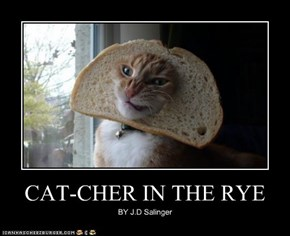 CAT-CHER IN THE RYE