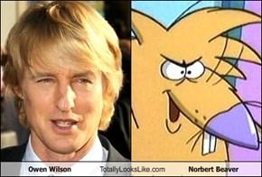 Owen Wilson Totally Looks Like Norbert Beaver